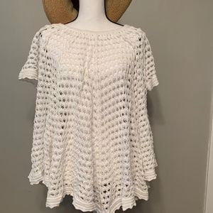 Minnie Rose Chunky Knit Top